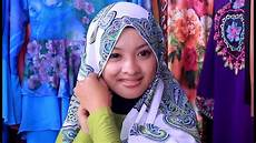 Tutorial Pashmina Wide Shawl Simple And Easy