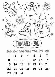 Bilder Zum Ausmalen Januar 13 Besten Ausmalbilder Kalender Bilder Auf