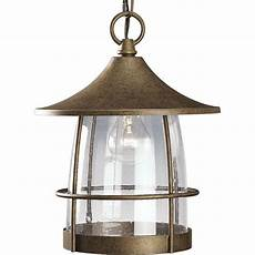 progress lighting prairie collection burnished chestnut outdoor hanging lantern p5563 86 the