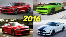 2016 american muscle car comparison hellcat camaro