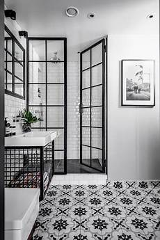 pictures of black and white bathrooms ideas duschv 228 gg duschd 246 rr industrial bathroom stockholm by user