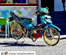 Modifikasi Motor Smash 2005 by Modifikasi Motor Smash 2008 Yang Hemat Tapi Keren Motor