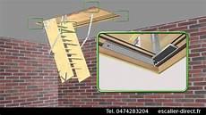 escalier escamotable escalier direct matis 232 re