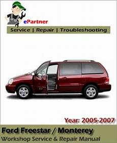 free online auto service manuals 2006 ford freestar electronic throttle control ford freestar 2005 2006 2007 workshop repair manual car service