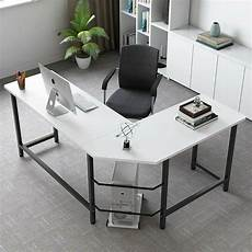 home office furniture l shaped desk modern l shape computer corner desk pc study working table