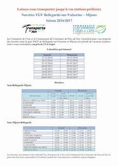 sncf calendrier des prix 2016 calam 233 o navette sup mijoux bellegarde 2016 2017