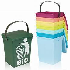 Recycle Kitchen Electronics by 5 Litre Small Table Top Food Recycling Bin Kitchen Worktop