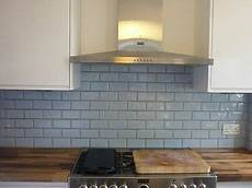 light blue metro kitchen bathroom tiles x 112 ebay