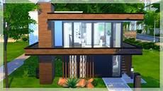 Cr 233 Ation Naturelle Et Moderne Speedbuild Sims 4