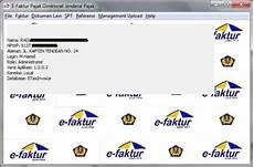 cara install e faktur trial version e pajak online