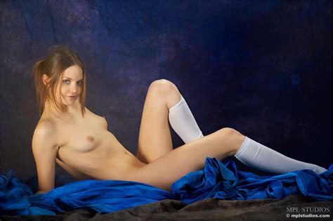 White Socks Nude