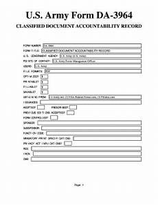 da 3964 fill online printable fillable blank pdffiller