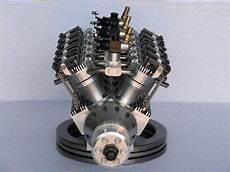 diy mini rc v12 engine