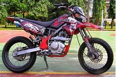 Modifikasi Kawasaki Klx by Kumpulan Modifikasi Motor Kawasaki Klx 150cc Keren Terbaru