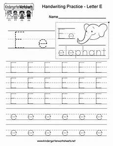 letter e tracing worksheets for preschool 23587 letter e writing practice worksheet this series of handwriting alphabet wor writing practice