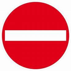 sens interdit panneau panneau d interdiction sens interdit 420 mm taliaplast 623207