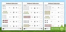 subtraction worksheets twinkl 10271 minibeast themed subtraction worksheet worksheets
