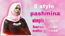 Tutorial Pashmina Jadi Cantik Kalo Pake Style Gini
