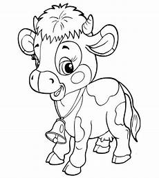top 15 free printable cow coloring pages