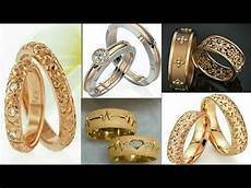 beautiful gold platinum wedding engagement rings design ideas 2019 couple rings youtube
