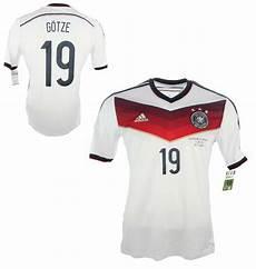adidas deutschland trikot 19 mario g 246 tze wm 2014 dfb heim