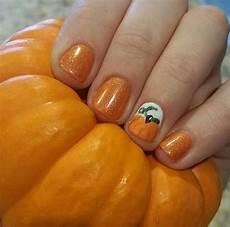 pumpkin nail art ideas popsugar beauty