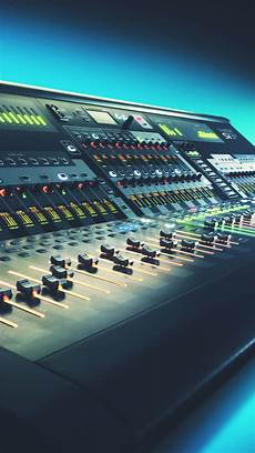 android console digital mixing console studio android wallpaper free