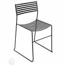sedia arreda aero 27 emu chair made of metal stackable also for