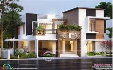 contemporary house plans in kerala 2018 kerala home design and floor plans 8000 houses