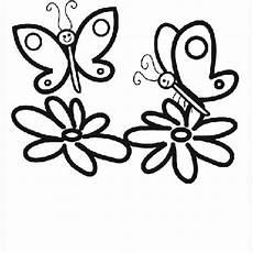 Ausmalbild Schmetterling Blume Ausmalbild Tiere Schmetterlinge Auf Blumen Kostenlos
