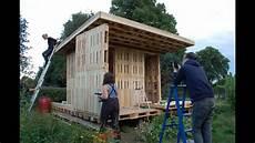 gartensauna selber bauen gartenhaus am holstenk diy palette house with