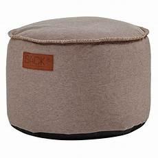 sitzhocker rund sackit sitzhocker rund retroit canvas drum sand romodo