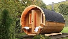 Wellness Pur Im Eigenen Garten Mit Dem Saunafass 330 De