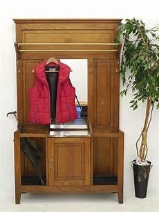 garderobe eiche garderobe wandgarderobe flurgarderobe antik um 1930 eiche