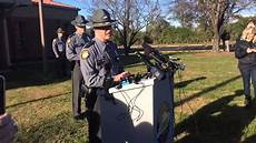 wc0lua wclu press conference at ksp post 3 on arrest of timothy