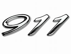 Quot 911 Quot Logo In Silver For Porsche 996 Quot Millennium Quot Special