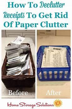 how to declutter organize receipts receipt organization declutter paper organization