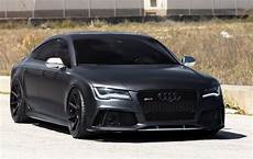 matt black audi rs7 velgen wheels