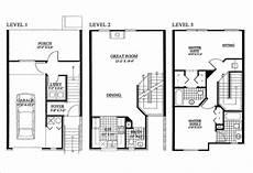 3 story floor plans make my plan enterprise consultants of elevations of