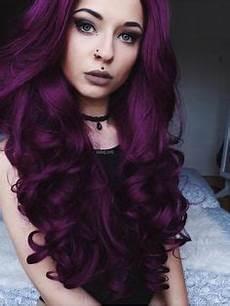 couleur cheveux violet foncé 464 meilleures images du tableau cheveux violets en 2019