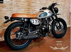 Kawasaki W175 Modif Japstyle by Kawasaki W175 Custom Kumpulan Motorcycle Moto Bike