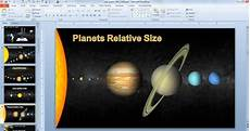 animated solar system powerpoint template for science