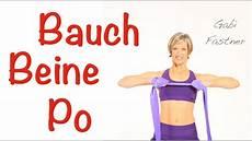 20 Min Bauch Beine Po Mit Dem Gymnastik Band