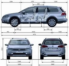 Abmessungen Vw Passat Variant 2015 - passat altrack 2012 dane techniczne wymiary silniki