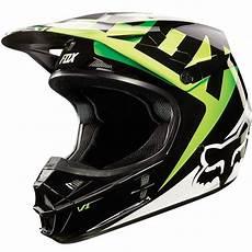 Fox Racing V1 Race Mx Snell Helmet Kawasaki Green Large