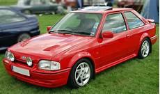 Kotxek Ford Rs Turbo