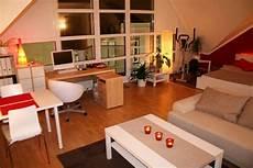 Wohnzimmer Wohn Schlaf Und Arbeitszimmer Livingroom