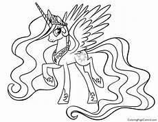 Ausmalbilder Pony Prinzessin Ausmalbilder Prinzessin Celestia Kostenlose Malvorlagen