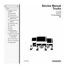 volvo wiring diagrams fe service manual volvo trucks fe wiring diagram service manuals pdf
