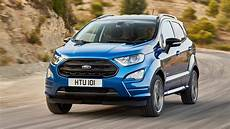 2018 Ford Ecosport St Line Exterior Driving Footage
